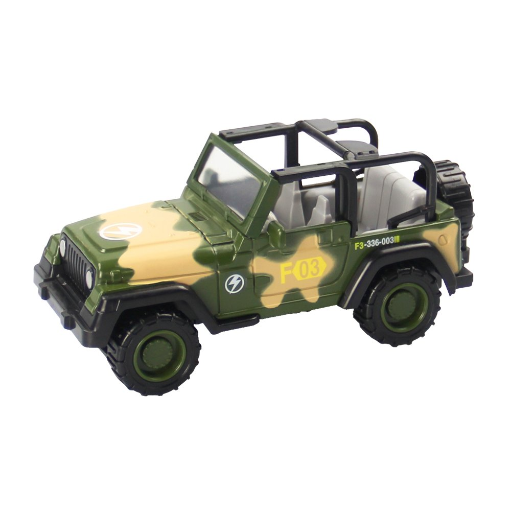 Children's Military Series Alloy Car Toy Tank Medical Vehicle Armored Car Battleplane Cross Country Vehicle Transporter