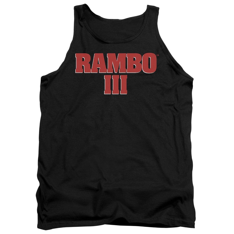 Rambo Iii - Mens Logo Tank Top