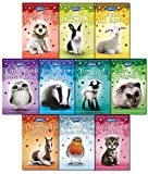 RSPCA Animal Rescue Pets 10 Children's Books Collection Set-Bad Day for Badger, A Snowy Robin Rescue, Tiny Goat in Trouble, Lamb all alone, Abandoned Kitten, Little lost Hedgehog, lonely Pony....