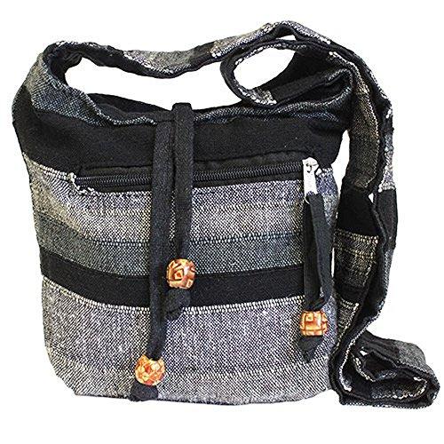 Reds Cotton Pocket Hippy side Sling Mountain 100 Bag Boho with Nepal Sunset Bag Granite Shoulder Festival OUPTIxUwq