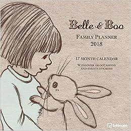 17e7c49584912a Belle   Boo 2018 - Familienplaner 5 Spalten