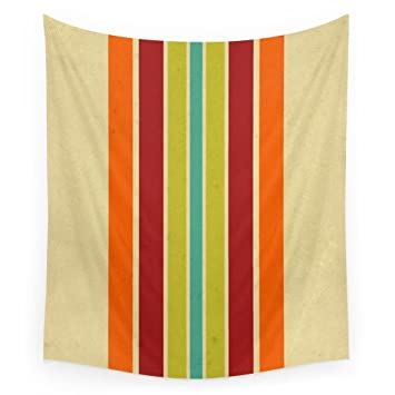 Society6 Retro 70s Color Palette III Wall Tapestry Large 88quot