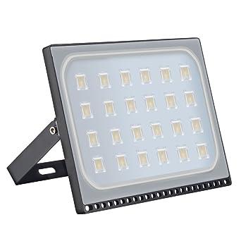 Ultra Dünn 10W 30W 50W 100W 500W LED Fluter Außen Baustrahler Scheinwerfer Lampe