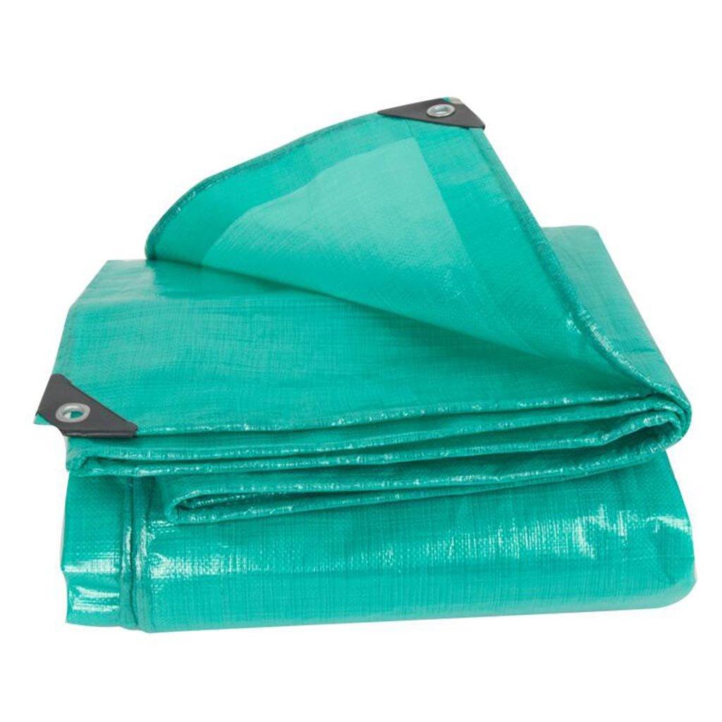 PENGJUN 屋外の防水トラックのターポリンの布の日焼け止めの濃い色の布 それは広く使用されています (サイズ さいず : 4*8M) 4*8M  B07K5GFSKB