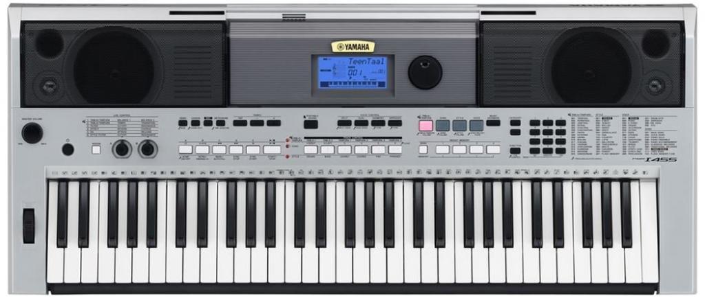 Yamaha psri455 digital keyboard silver amazon musical instruments fandeluxe Image collections