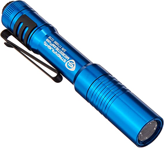 "Streamlight 66604 Microstream with 5/"" USB Cord Black Boxed Flashlight"