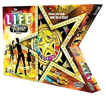 Game Of Life Fame Edition Board Game Amazon Co Uk Toys Games