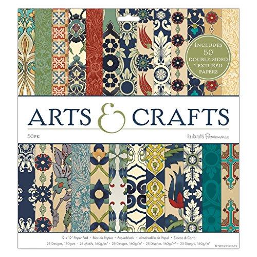 "Docrafts Papermania Craft Premium Paperstock 12 x 12"" - Arts & Crafts (50pk)"