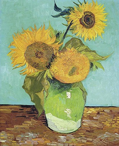 Sunflowers - Vincent Von Gogh. Art Print Poster (12