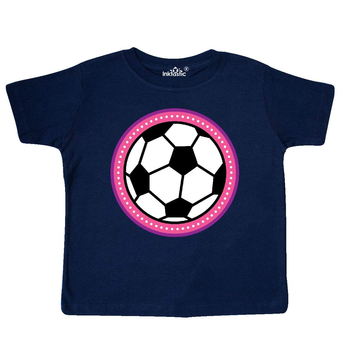 inktastic Soccer Player Girls Sports Ball Toddler T-Shirt