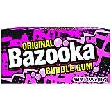Bazooka Bubble Gum, Original, 19 Piece Box (Pack of 12)