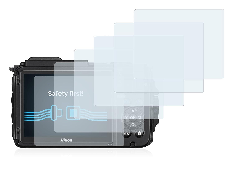 4x Golebo Crystal protector de pantalla lámina de protección para Olympus OM-D e-m10 Mark II