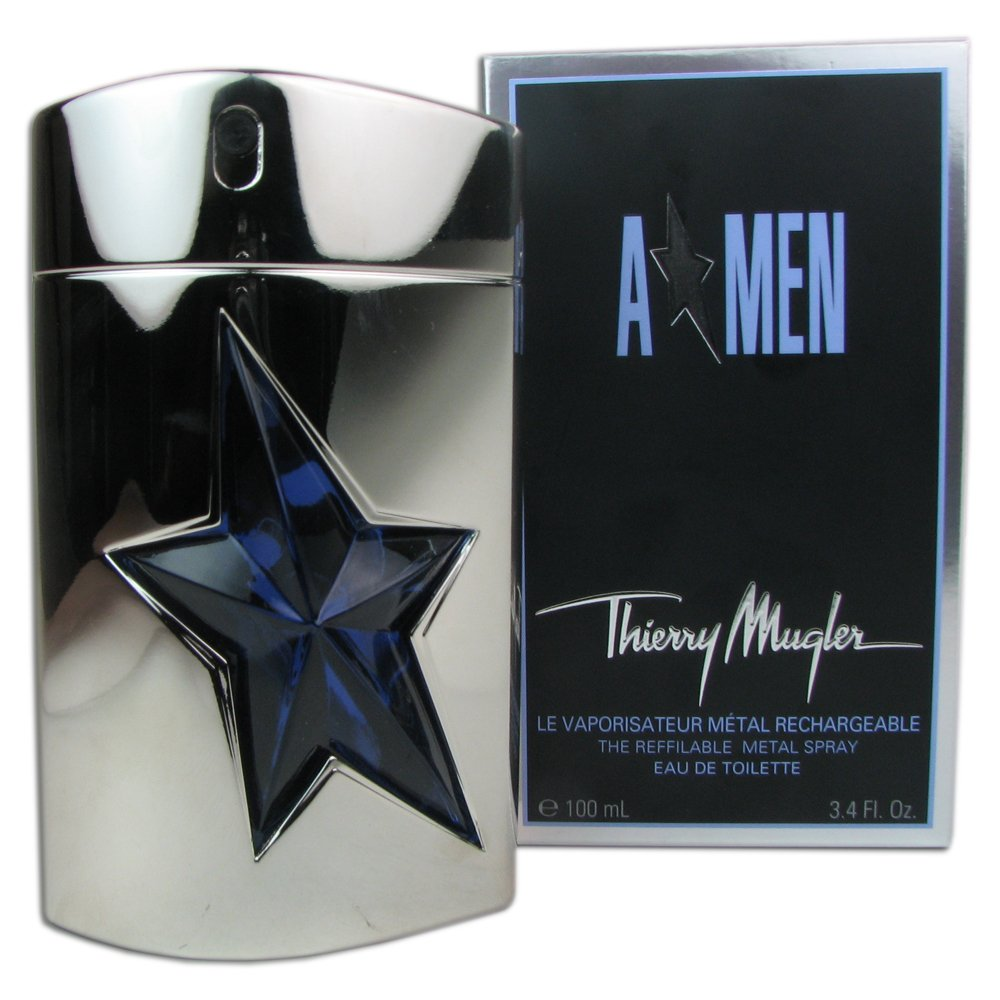 1389576202 Amazon.com : A Men by Thierry Mugler, Metal Refillable EDT Spray 3.4 OZ :  Beauty