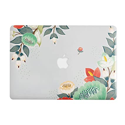 MacBook Air 13 inch Hard Case for Model A1369 / A1466, AQYLQ Smooth Touch Ultra Slim Matte Plastic Rubber Coated Protective Shell Cover, CY7.7-29 Bud