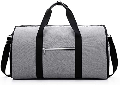 Color : Black Travel Duffel Oxford Cloth Waterproof Handbag Multi-Function Shoe Bag Travel Bag Large Capacity Duffel Bag Gym Sports Luggage Bag