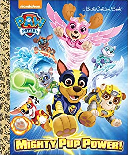 Amazon Com Mighty Pup Power Paw Patrol Little Golden Book