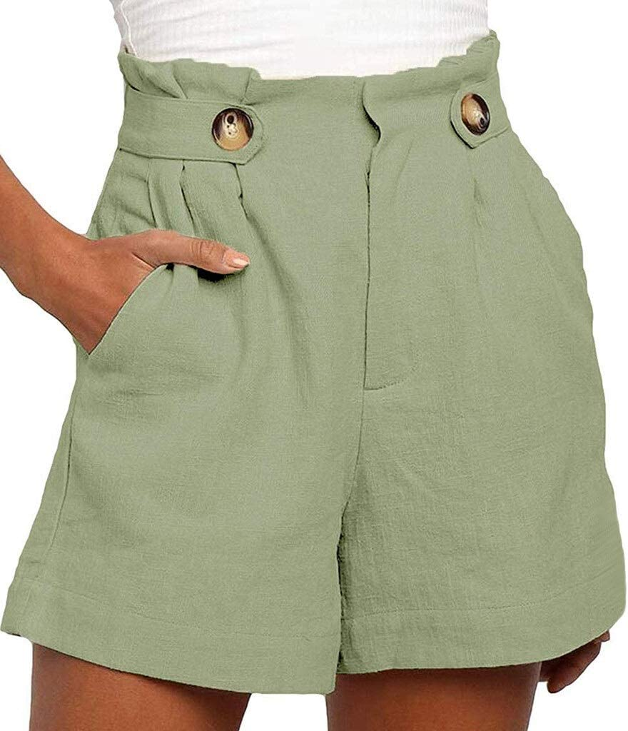 /Él/égant Femmes Noir Beige Shorts Jupettes Zipper Fly Poches Femme Casual Chic Shorts PU Cuir