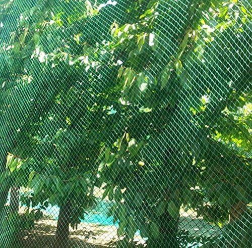 SIENA GARDEN Teichabdecknetz 4x10m 20x20mm Laubschutznetz Schutznetz Abdecknetz