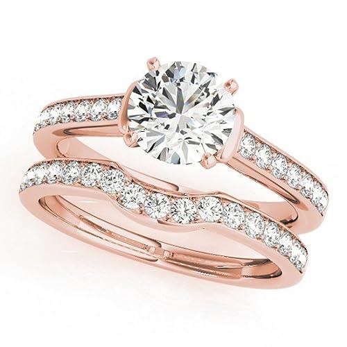 6cd7e87abc59 Lilu Jewels - Anillo de compromiso para mujer
