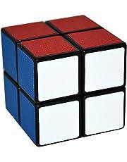 LSMY 1 2x2 Puzzle Speed Cubes Toy Matte Sticker, Black