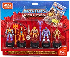 Mega Construx Pro Builder: Masters of the universe hero pack- battle of eternity collection