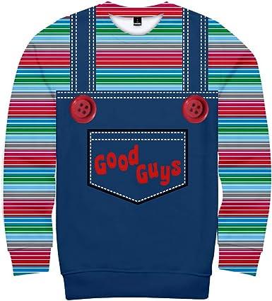 Unisex Good Guys Chucky Sudaderas Hip Hop Fashion Classic ...