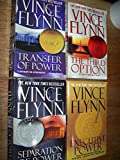 img - for Vince Flynn 4 Volumes Set: Transfer of Powerr, The Third Option, Seperation of Power & Executive Power book / textbook / text book