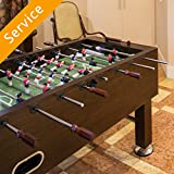 Foosball Table Assembly