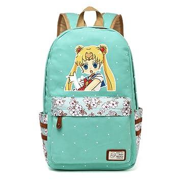 Siawasey Anime Sailor Moon Bookbag Mochila Bolso de escuela: Amazon.es: Electrónica