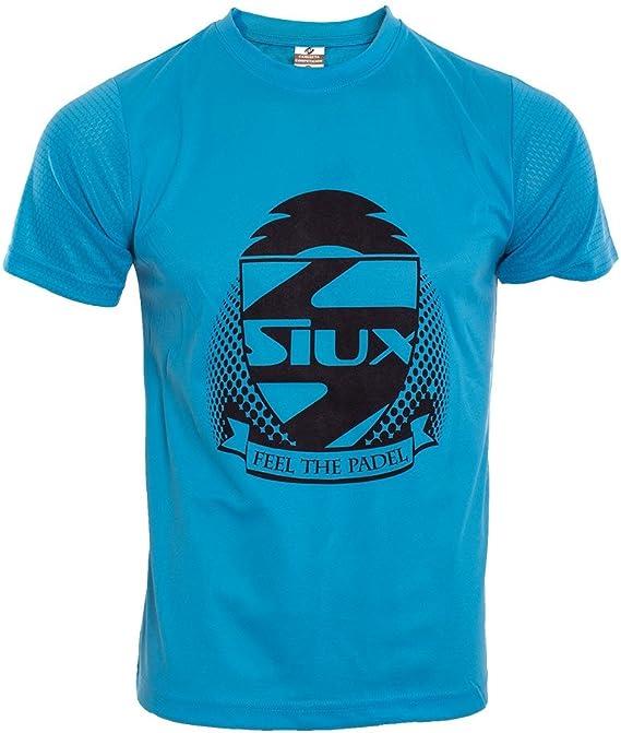 Siux Camiseta COMPETICION Azul Turquesa: Amazon.es: Deportes y ...