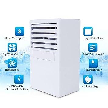 Mini Luftkühler Klimageräte Klimaanlage Usb Mobil Luftbefeuchter Ventilator Weiß Büro & Schreibwaren