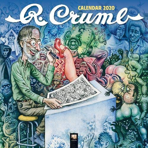 R. Crumb Wall Calendar 2020 (Art Calendar), used for sale  Delivered anywhere in USA