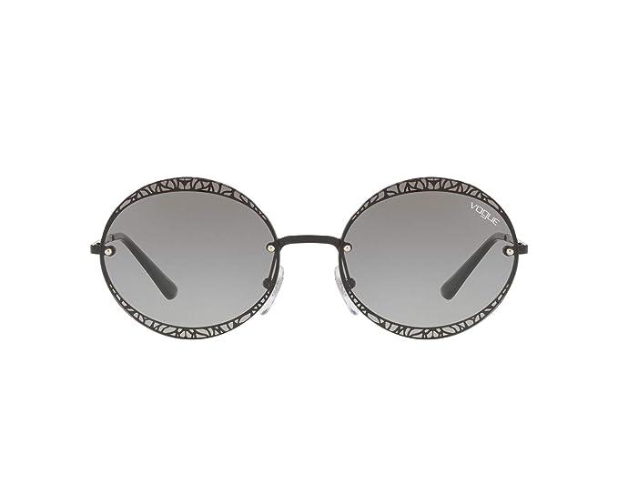 Vogue 0VO4118S Gafas de sol, Black, 56 para Mujer: Amazon.es ...