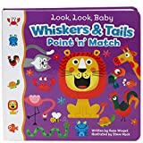 img - for Whiskers & Tails: A Point & Match Board Book book / textbook / text book