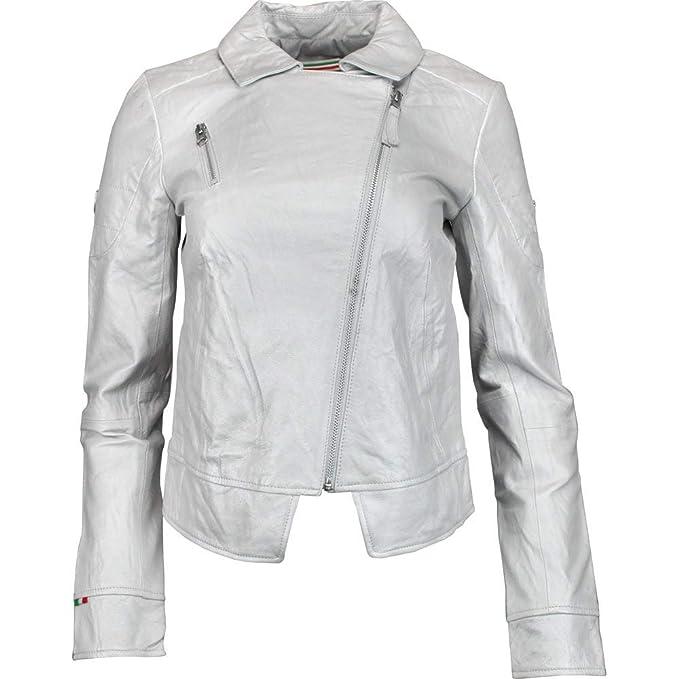 Amazon.com: PUMA Ferrari - Chaqueta de piel para mujer: Clothing