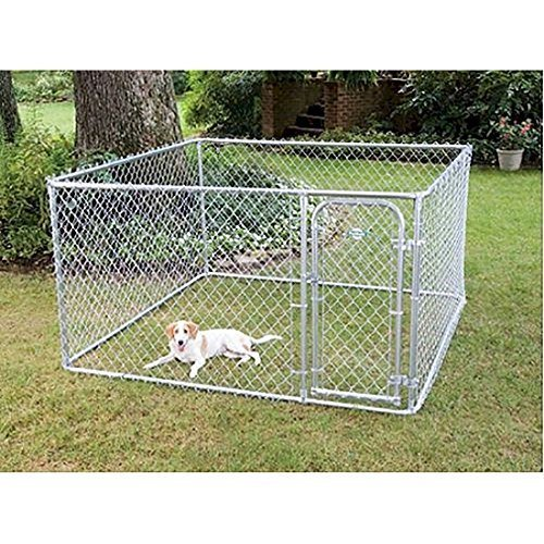 FENCEMASTER Box Dog Kennel and Dog Pen System (Cheap Chain Link Dog Kennels For Sale)