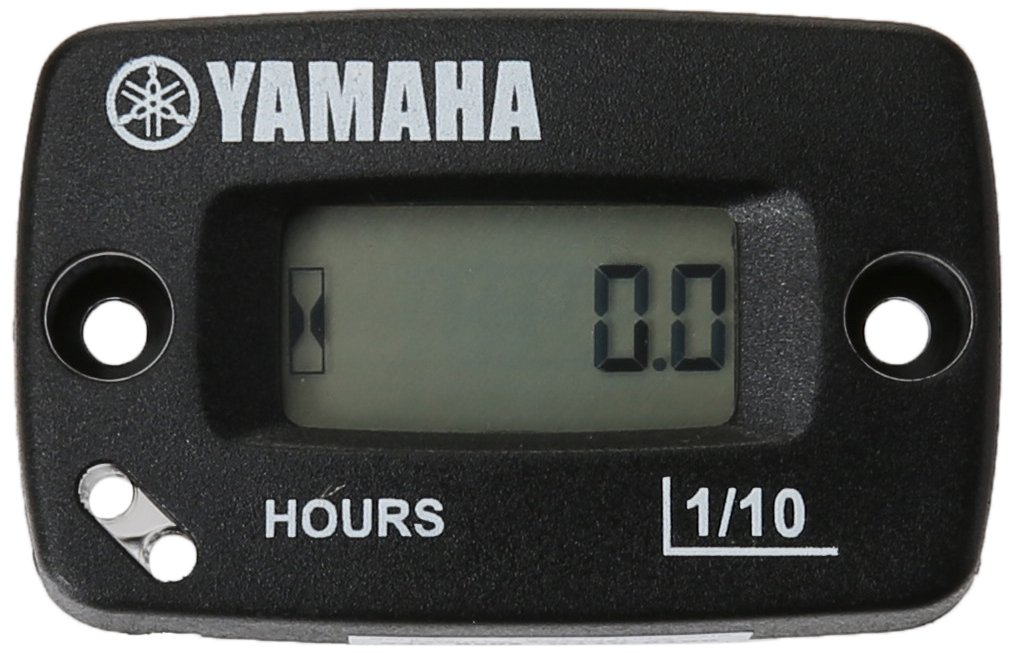 Yamaha ENG-HOURS-00-00 Automatic Standard Hour Meter for Yamaha Grizzly 300