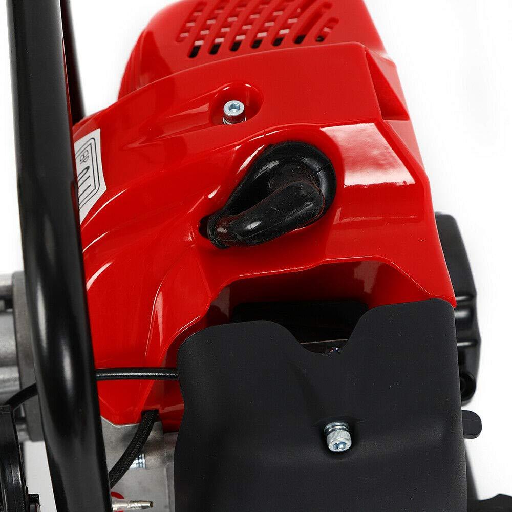 43cc 2 temps Essence Pompe /à Eau /à Moteur pour Jardin 1.25kw//6500rpm Maxi 15000 L//h