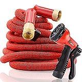 Gada Sprinkler Apex Hose,Brass Expandable Hose,Flex Expanded Hose,Snake Garden Hose(100ft)