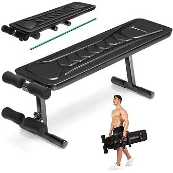 Sportstech Banc De Musculation Brt500 Appareil Multifonction Pliable