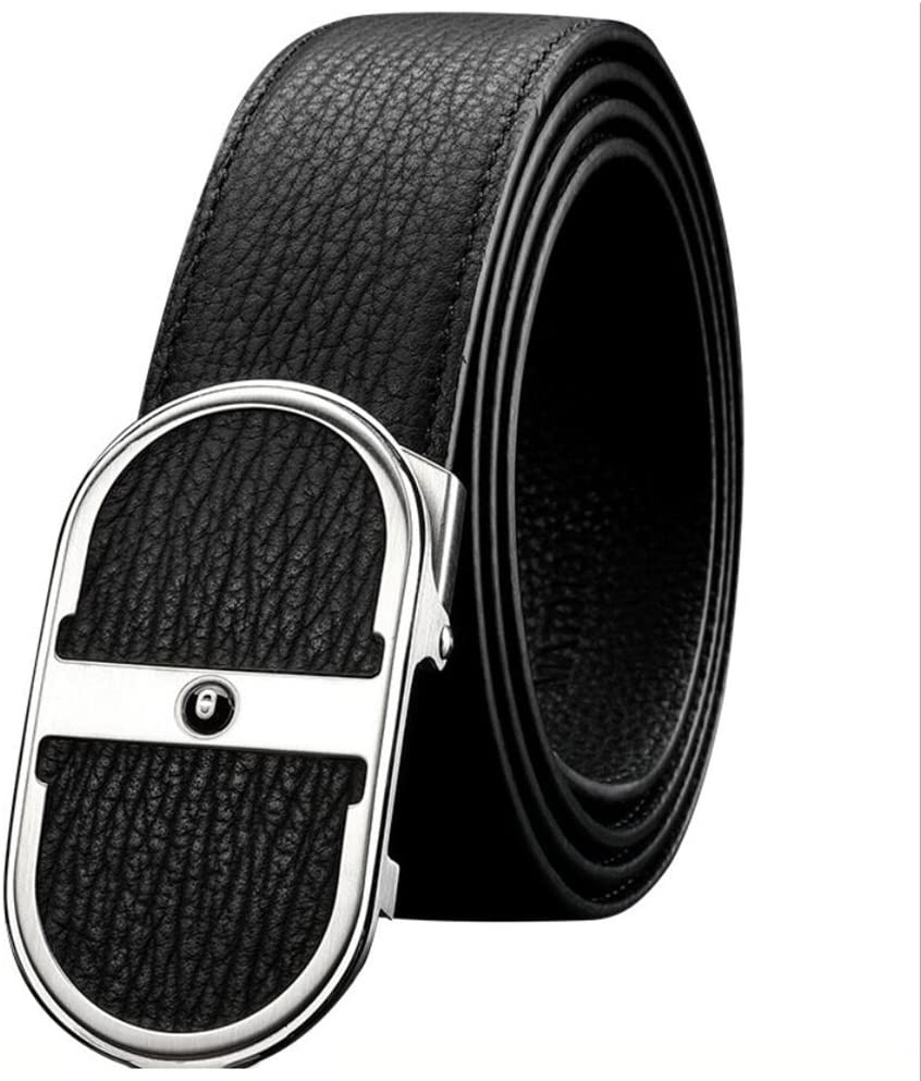 XUEXUE Mens Casual Formal Belts,Automatic Buckle, Adjustable,Comfortable Work Active Basic Leather,Great for Jeans /& Casual Wear /& Cowboy Wear /& Work Clothes Uniforms