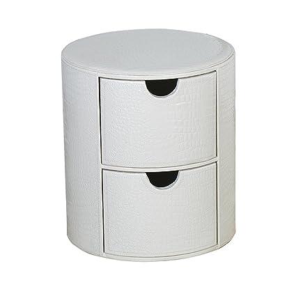 Multifuncional Taburete de pie Redondo 2 Caja de almacenamiento ...