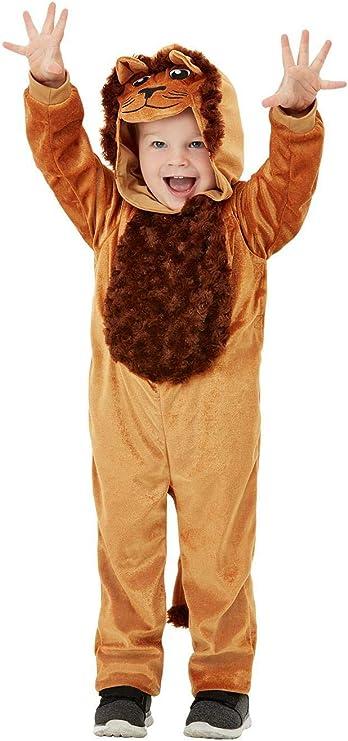 Smiffys 47707T1 - Disfraz de león para niño, unisex: Amazon.es ...