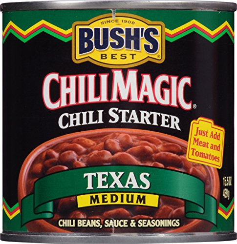 Bush's Best Chili Magic Texas Chili Starter, 15.5 oz (12 cans)
