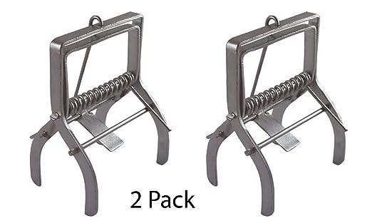 High Quality Zinc Plated Professional Mole Traps 4