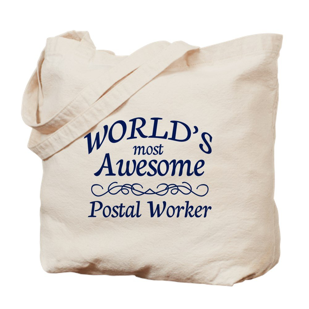 売り切れ必至! CafePress – Postal M Worker Postal – – ナチュラルキャンバストートバッグ、布ショッピングバッグ S ベージュ 0733240150DECC2 B073QTGP2K M M, disc24market:99f4aec7 --- vezam.lt