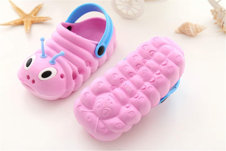 Boys Girls Sandals Clogs Cute Caterpillar Slip On Lightweight Kids Beach Slipper TMEOG Baby Sandals