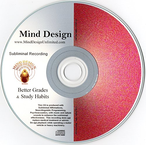 Better Grades and Study Habits Subliminal CD - Become Motivated to Study More and Remember More of What You Learn!!