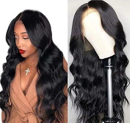 Maxine 8A - Peluca de encaje ondulado, densidad 130 %, cabello ...