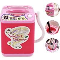 Automatic Makeup Brush Cleaner, lesgos Electronic Cleaning Machine Washing Tools Dries Deep Cleaning for Brushes, Sponge and Powder Puff Tiktok Toy